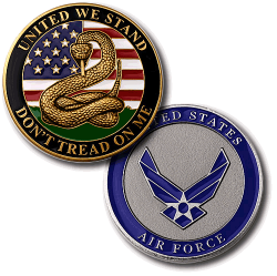 USAF Don't Tread on Me Challenge Coin