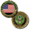 Army Retired Challenge Coin