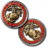 USMC Core Values Challenge Coin