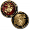 USMC Retired Challenge Coin
