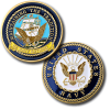 Navy Retired Challenge Coin