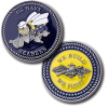 Navy Seabees Challenge Coin