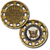 Navy New Mission Challenge Coin